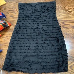 Dresses & Skirts - Black tubetop strapless dress size Small